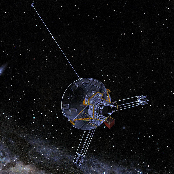 Pioneer 10/11 space probe - artist's conception