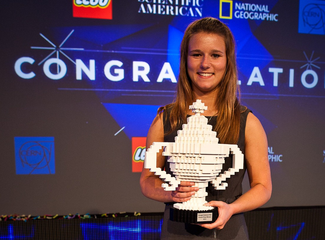 Brittanny Michelle Wenger, Google Science Fair 2012 winner