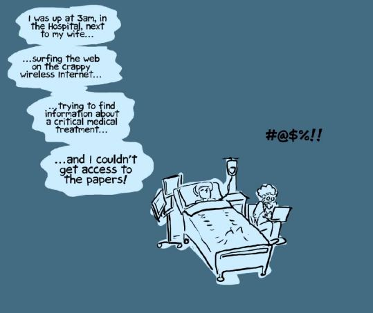 Image result for phd comics open access
