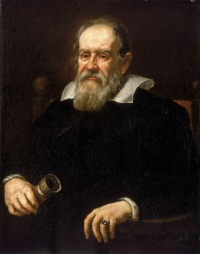 Portrait of Galileo Galilei by Justus Sustermans painted in 1636