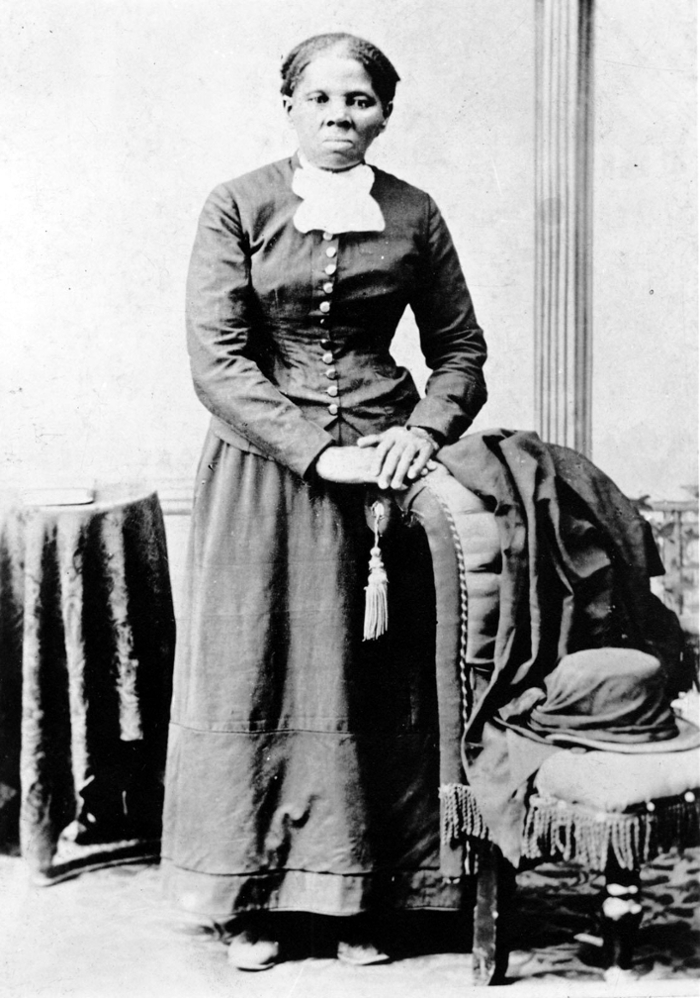 <strong>Harriet Tubman. </strong> Famous abolitionist, Underground Railroad leader, and women's suffrage pioneer, Tubman's life was examined by a recent digital humanities study that tapped the HathiTrust and JSTOR digital repositories and XSEDE high-performance computing resources. Courtesy H. B. Lindsley – National Portrait Gallery, Smithsonian Institution.