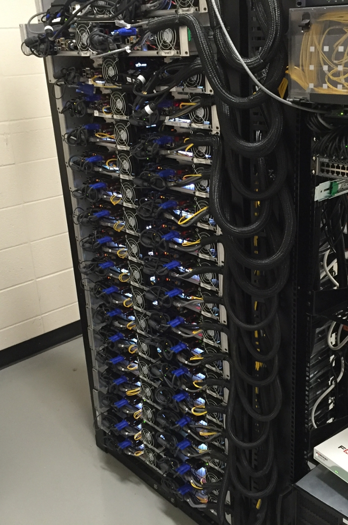 <strong>Special sauce.</strong> 240 cores of hidden HPC power fuel the magic. Spectacular plays become spectacular 360º replays. Soon, users will be able to direct their own viewing experience. Courtesy Indiana University.
