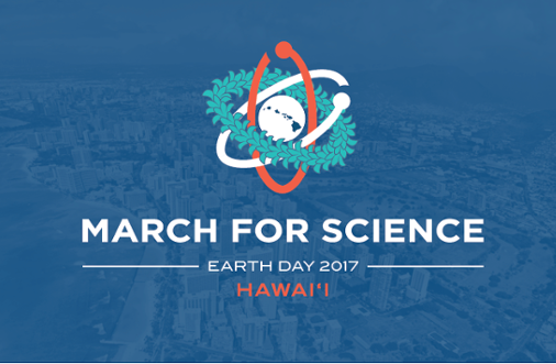 <strong>Island hopping. </strong> If you're fortunate enough to be in Hawai'i on Earth Day, you've got four March for Science sites to choose from: Hilo, Honolulu, Lihue, and Maui. Courtesy March for Science, Hawai'i.
