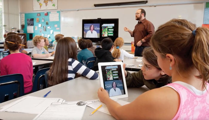 <strong>Digital schoolhouses rock!</strong> Video conferencing technology is transforming education and exploding the concept of the educational space. Internet2's low latency research and education network makes it possible. Courtesy Internet2; IDS; Vidyo.
