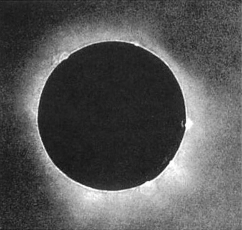 <strong>Photo finish. </strong> Using the daguerreotype process, Julius Berkowski took the first scientifically useful photograph of a total solar eclipse in July 1851 at the Royal Observatory in Königsberg, Prussia (now Kaliningrad, Russia).
