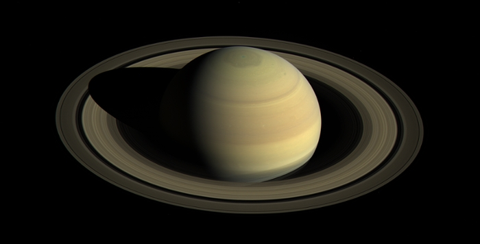 <strong>There is a season: Turn, turn, turn. </strong>A year on Saturn is equal to 29 Earth years with each season lasting about seven Earth years. The entire Cassini mission will have observed almost half of a Saturn year. Here Cassini images show summer returning to the northern hemisphere. Courtesy NASA; Jet Propulsion Laboratory.