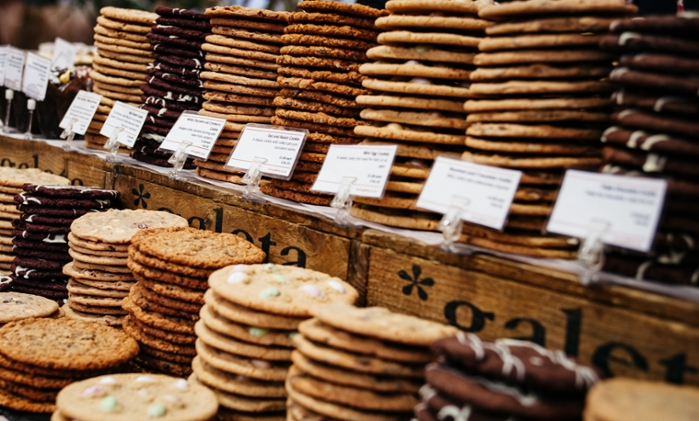 <strong>The tastiest of them all.</strong> Google employees filled out a survey about the cookies to provide feedback to the machine about what worked and what didn't, providing a fluid dynamic between humans and machines to solve a problem. Courtesy Clem Onojeghuo/Unsplash.