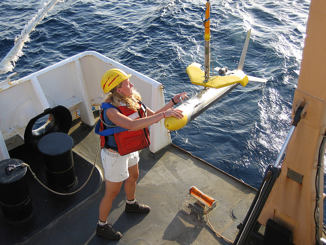<strong>Scientists increasingly rely</strong> on internet-connected sensors to collect information, resulting in an explosion of data for research organizations to store and manage. Courtesy NOAA.