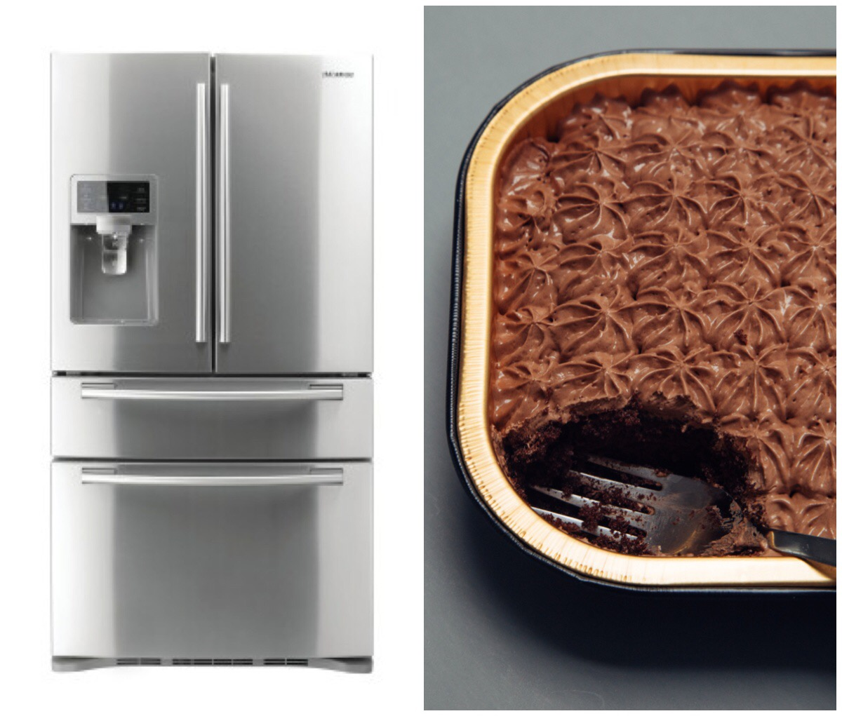 <strong>Snack attacker.</strong> An internet-connected refrigerator may send data about usage back to the manufacturer. But will they use that info to improve their product--or sell it to your health insurance company to report on your chocolate cake habit?.