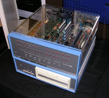 <strong>You've come a long way, baby.</strong> The first personal computer, the Altair 8800, was sold in 1974 as a mail-order kit that users had to assemble themselves.