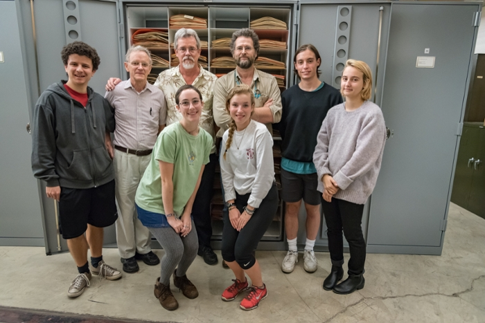 <strong>It takes a village.</strong> Scientists, librarians, and over 70 curatorial assistants have been working for five years to complete the digitization of the IU Herbarium collection. Courtesy Emily Sterneman.