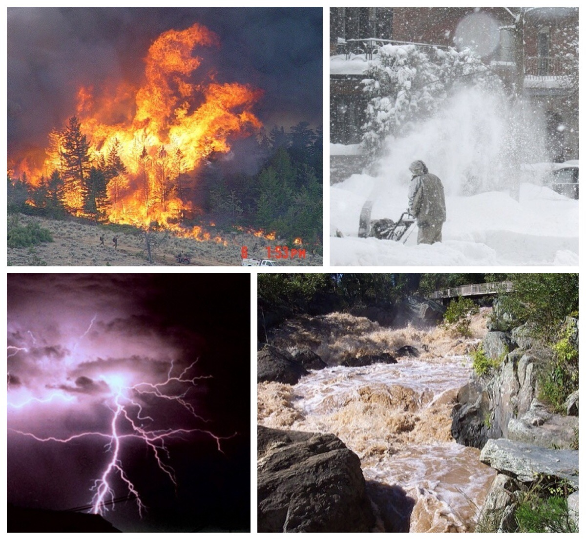 <strong>From floods to fires</strong>, increasingly volatile weather endangers lives around the globe. Margaret Lawson is developing a system to help scientists comb through the massive amounts of data it takes to predict extreme weather events and help keep people safe. Courtesy NOAA.