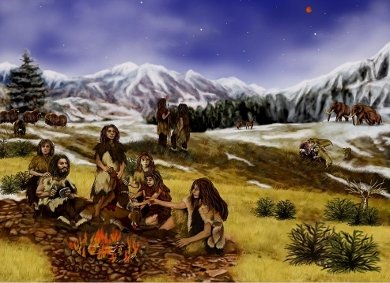 <strong>New studies of old campfires</strong> are revealing a wealth of information about cultural and environmental conditions in prehistoric societies. Courtesy Leiden University.