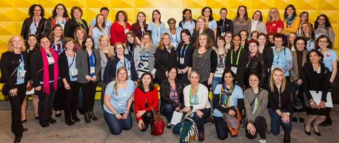 <strong>Women in HPC</strong> supports women in the research computing community through role models, mentorship, and male allies.