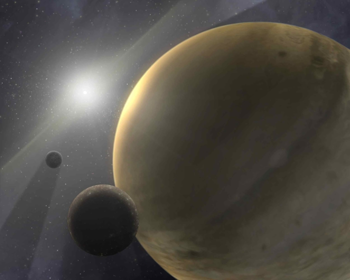 <strong>Host stars.</strong> A machine-learning algorithm uses information about the chemical composition of stars to predict whether it is surrounded by planets. Courtesy NASA/JPL-Caltech.