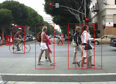 <strong>Small change, devastating impact.</strong> Even small alterations to data can force an AI model to misclassify data—imagine the impact that could have on a self-driving car's ability to identify pedestrians. Courtesy Statistical Visual Computing Lab/UC San Diego.