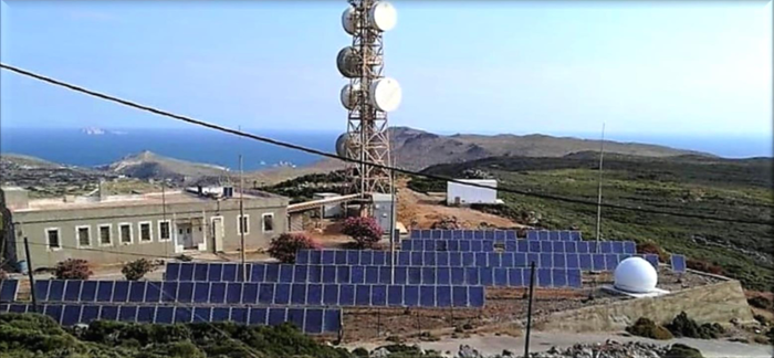 <strong>PANGEA.</strong> An observation station on the island of Antikythera in the eastern Mediterranean provides an ideal location for dust-driven polarimetric measurements.