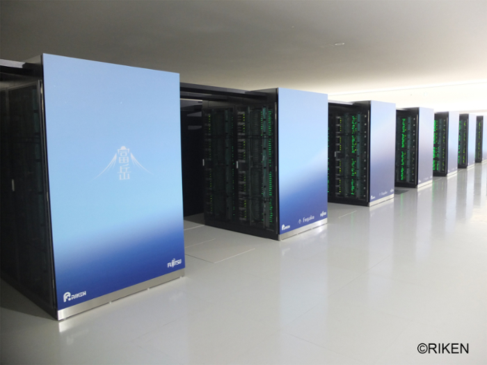 <strong>The world's fastest supercomputer, Fugaku</strong>, boasts several architectural innovations that may pave the way for even greater performance. Courtesy RIKEN.