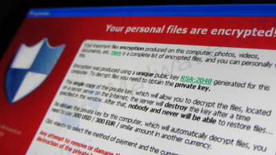 <strong>Ransomware</strong> could threaten election security if computers containing election records are compromised. Courtesy Christiaan Colen. <a href='https://creativecommons.org/licenses/by-sa/2.0/'>(CC BY-SA 2.0)</a>
