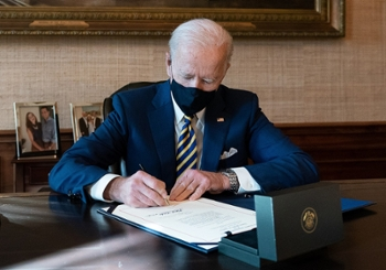 <strong>President Biden</strong> has used the power of the executive order to push the U.S. to address the climate crisis. It's a great start, but Biden began his presidency by undoing some of the executive orders that Trump signed. If we want lasting change, Congress and other parts of the government may have to get involved.